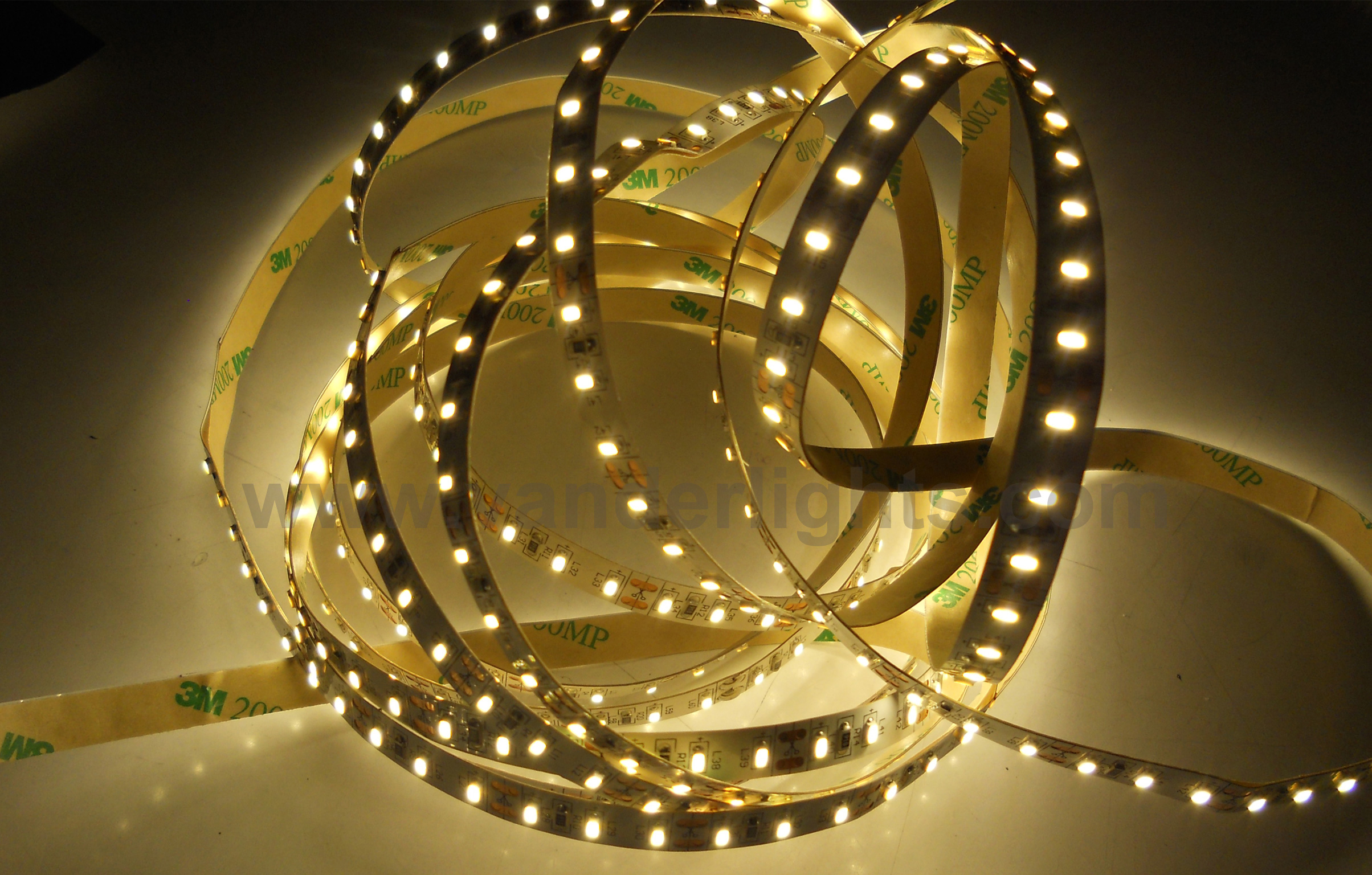 SMD3014-120leds 12W/m warm white IP20 LED flexible strip light