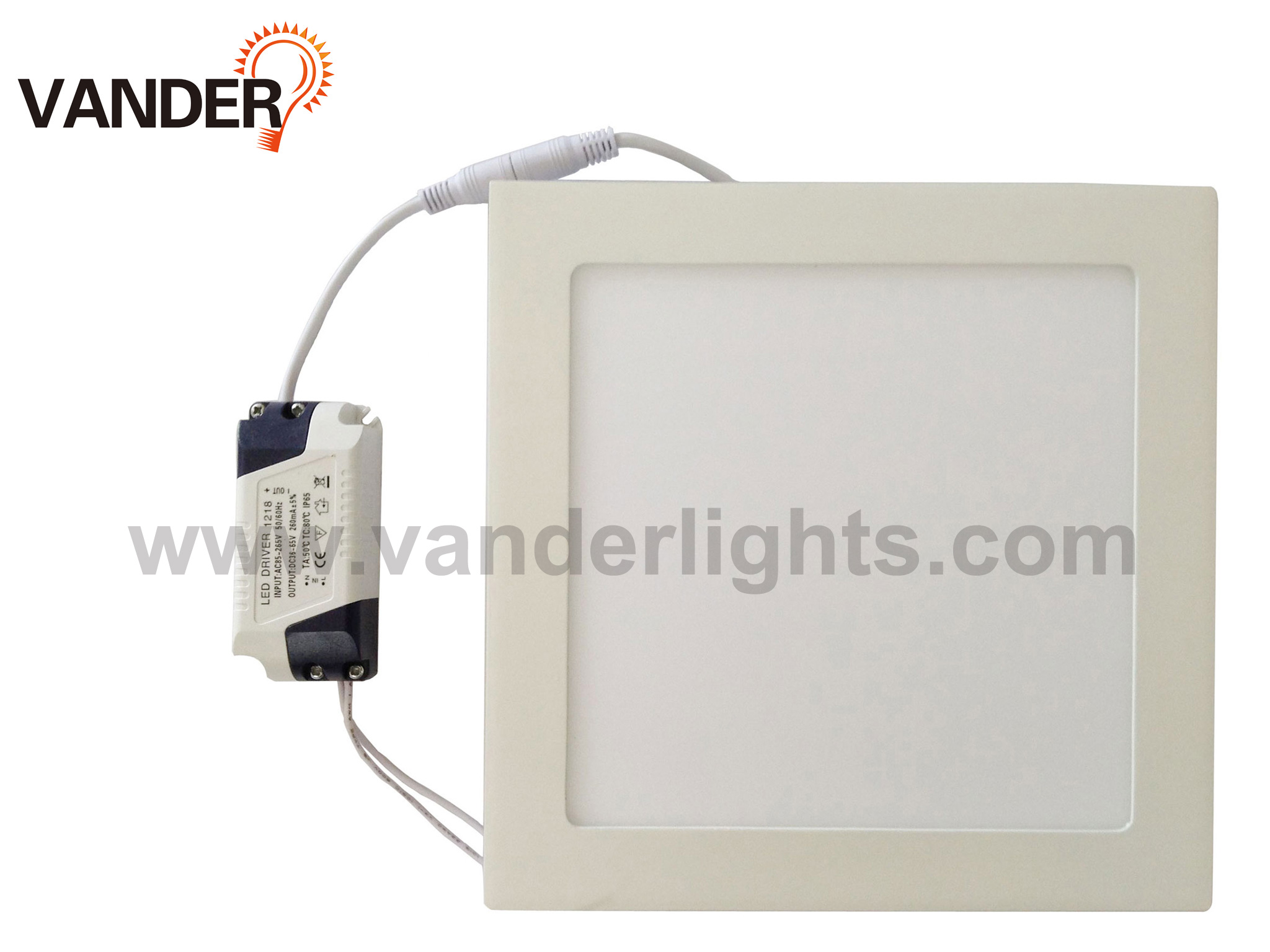 Square Series LED Panel Light from 3W to 24W