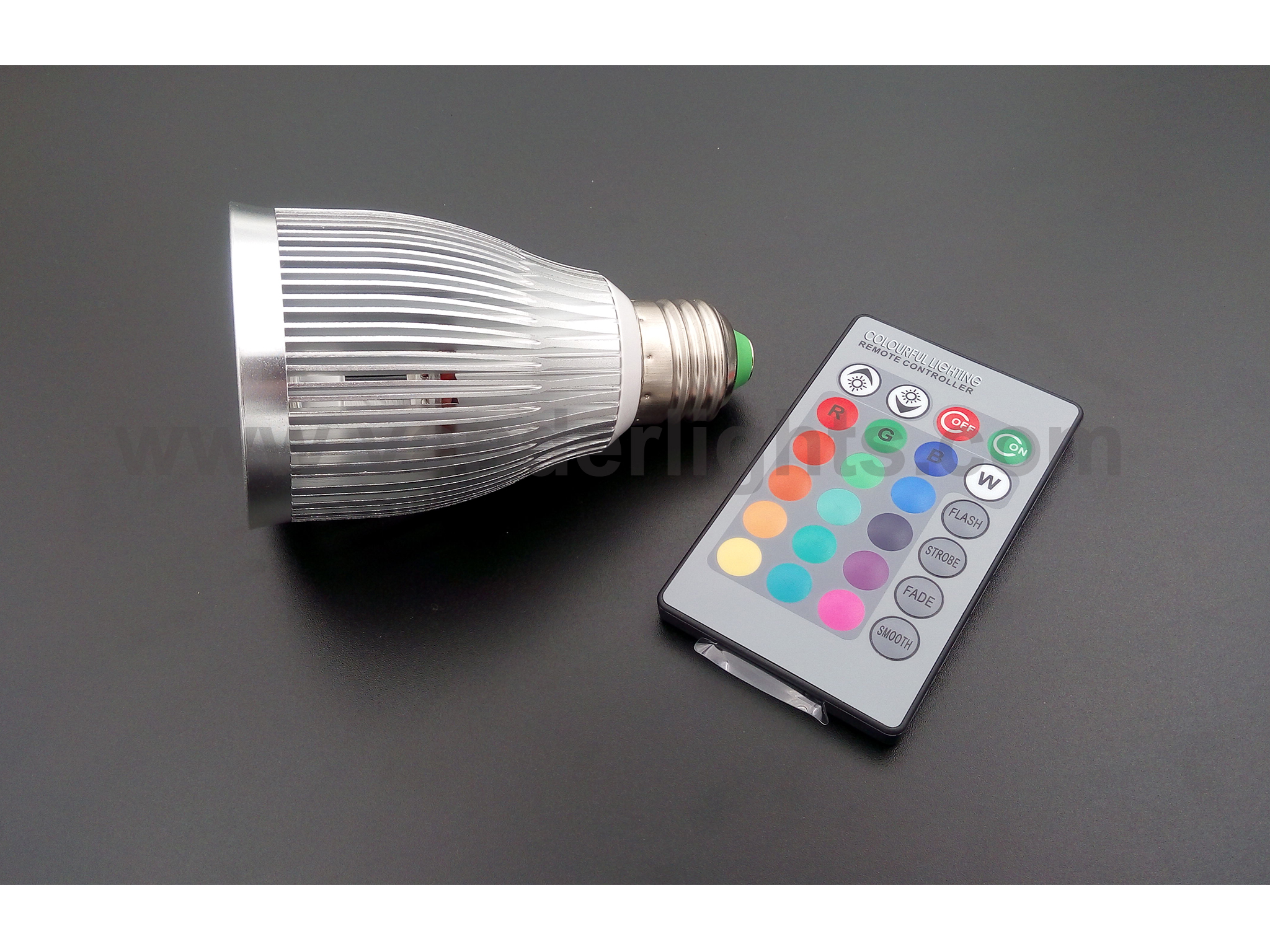 7W RGB LED spot light