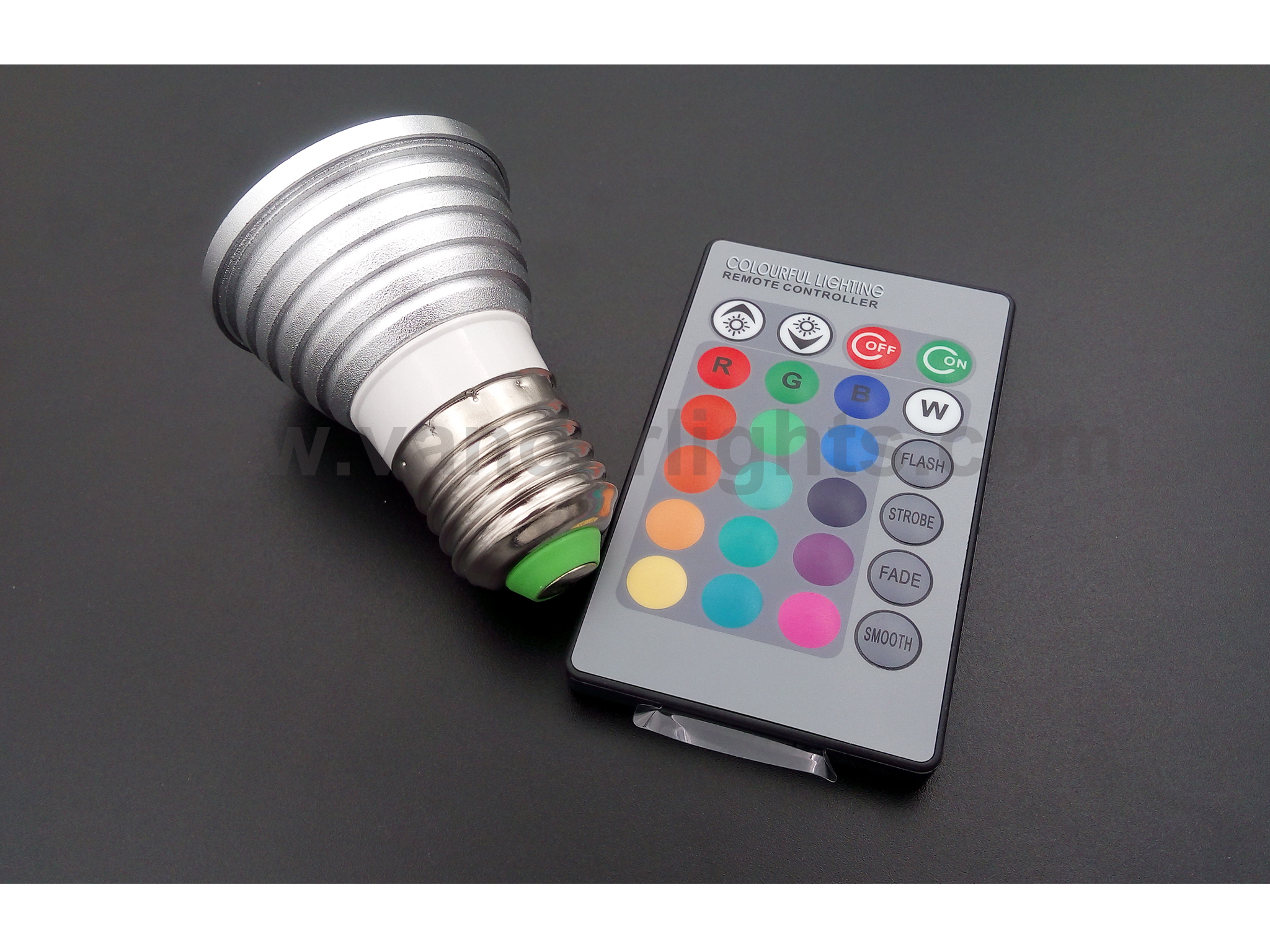 3W RGB LED spot light