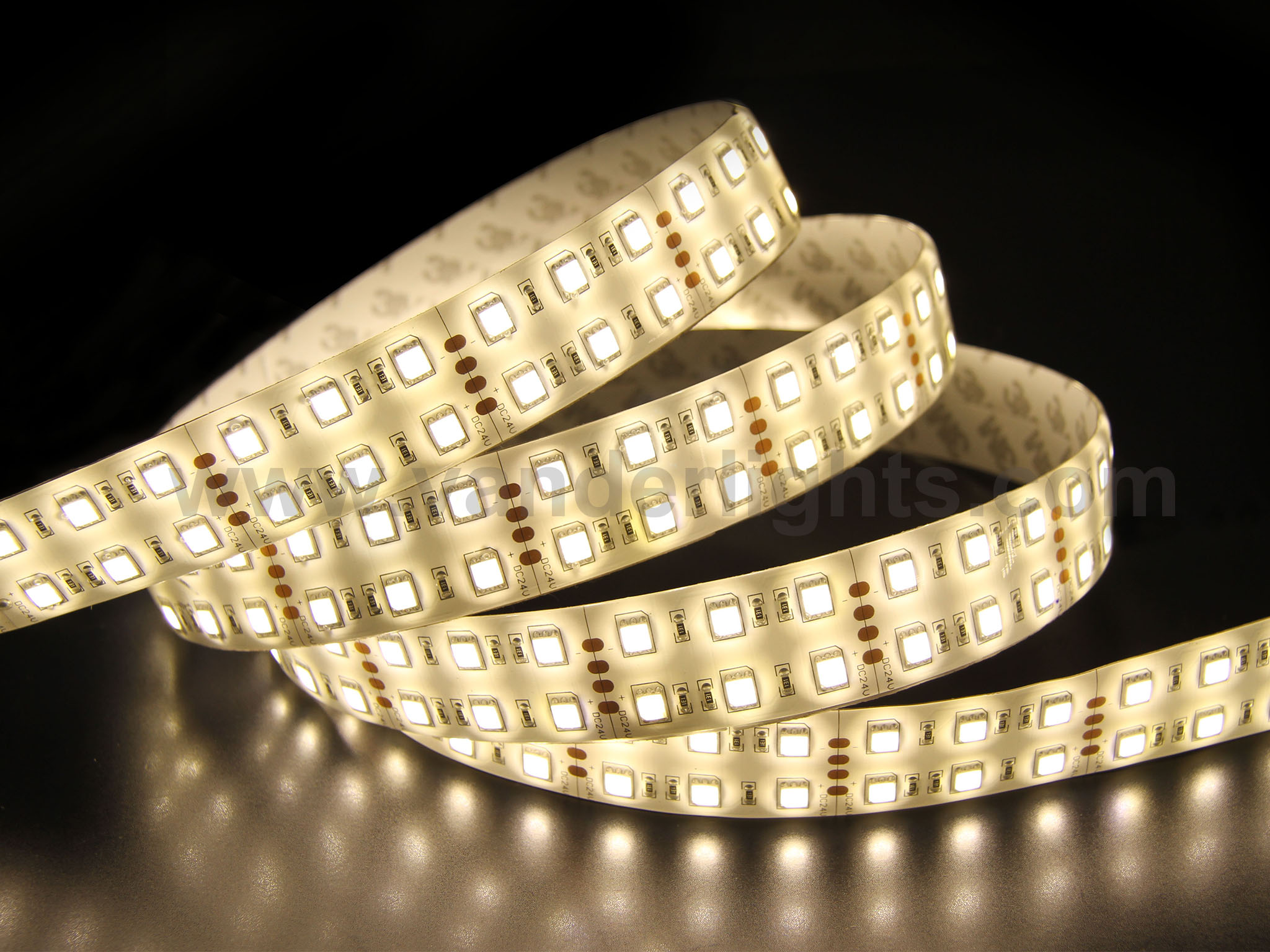 SMD5050-120leds 28W/m warm white  IP65 LED flexible strip light