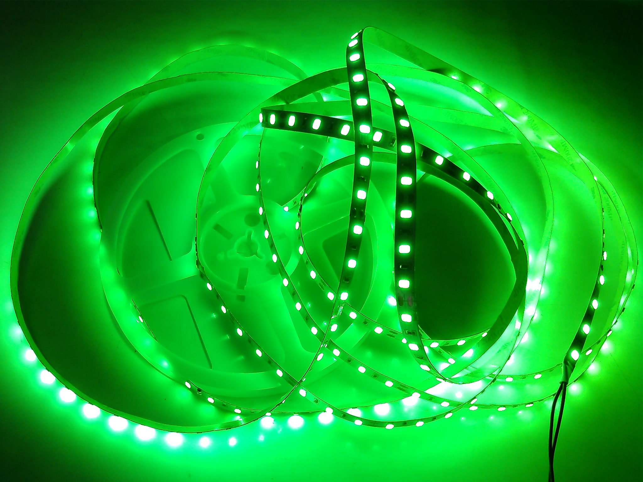 SMD5630-60leds 16W/m green IP20 LED flexible strip light