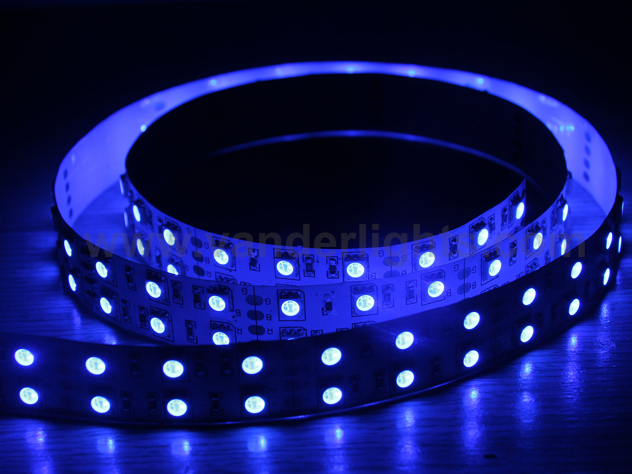 SMD5050-120leds 28W/M blue IP20 LED flexible strip light