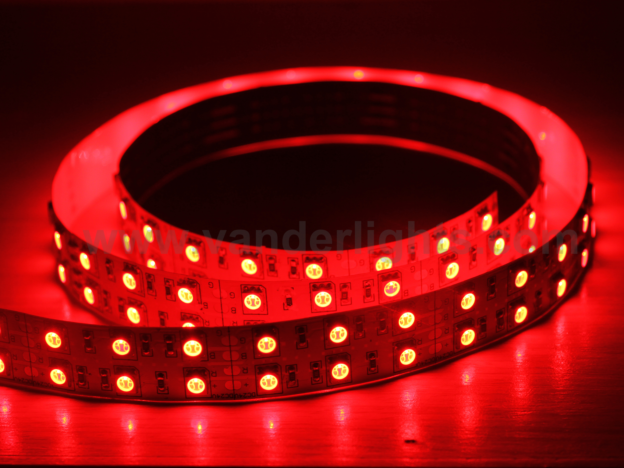 SMD5050-120leds 28W/M red IP20 LED flexible strip light