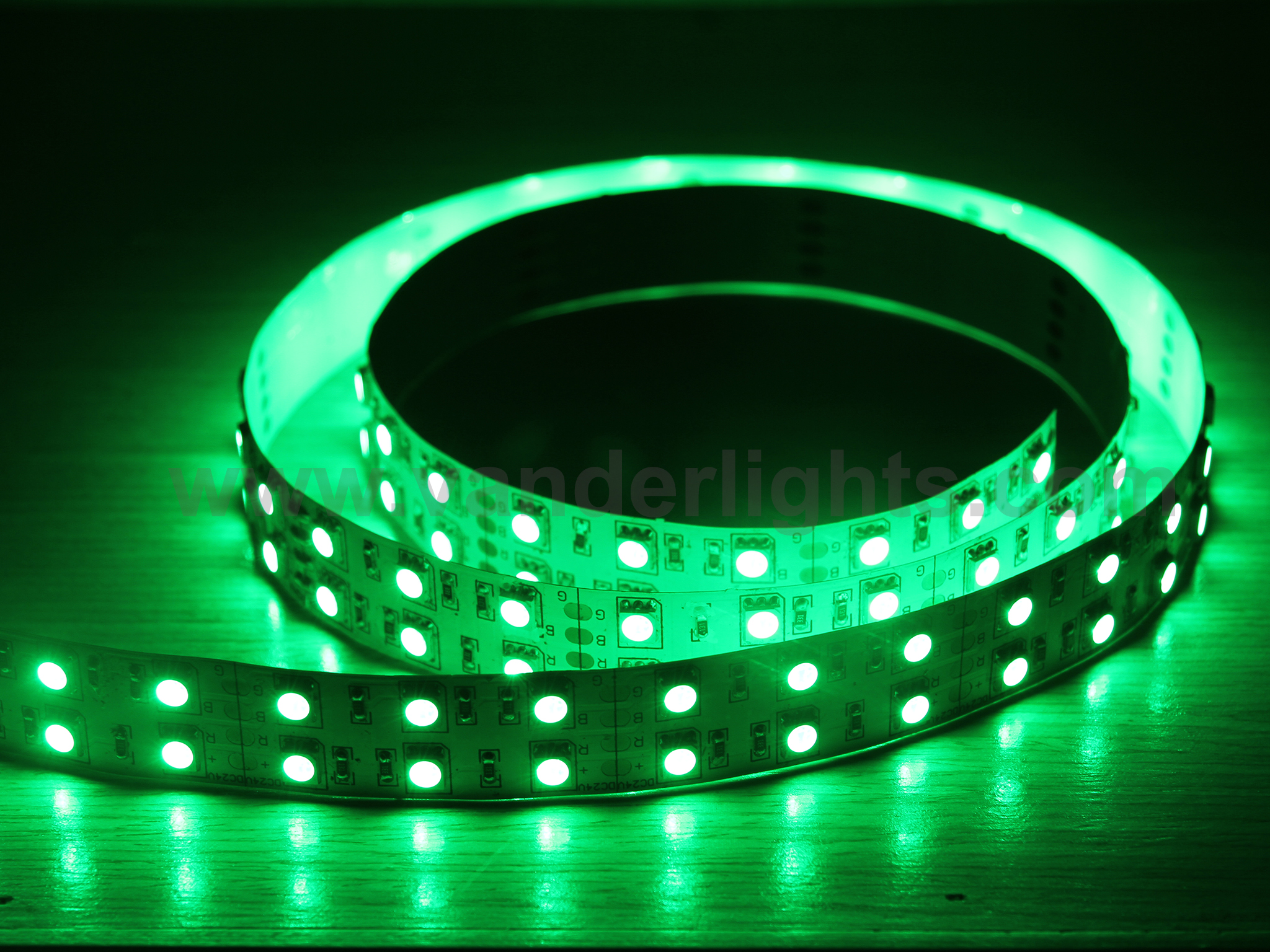 SMD5050-120leds 28W/M green IP20 LED flexible strip light